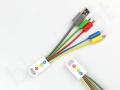 Kabel USB 4w1 z logo