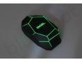 nowoczesna mysz komputerowa z podświetlanym logo