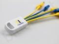 kolorowy kabel ładujący 5w1 z logo Twinning