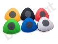 kolorowy wodoodporny głośnik reklamowy z przyssawką z nadrukiem