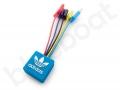 kolorowy kabel ładujący 5w1 z logo