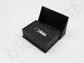 Pamięć USB OTG w eleganckim pudełku prezentowym z nadrukiem logo Rodzinne Inwestycje