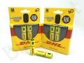 baterie ładowane kablem USB z nadrukiem klienta