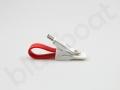 kabel ładujący do telefonu brelok microUSB