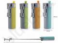 reklamowy głośnik bluetooth z wbudowanym power bankiem  i selfie stickiem