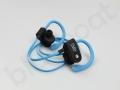 bezprzewodowe słuchawki z logo nju mobile