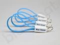 praktyczny gadżet, kabel USB brelok z logo