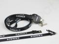 czarny kabel micro usb, typ-c reklamowy z logo CANAL+