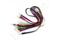 kabel smycz USB z logo i końcówką 2w1 (micro USB + lightning)