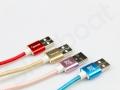 120cm reklamowy kabel USB, grawer firmowe logo