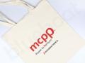 bawełniana torba na zakupy z firmowym logo
