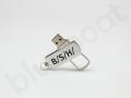 Pamięć USB obrotowa z nadrukiem logo