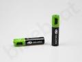 nowoczesny gadżet, baterie AAA z logo Solaris