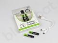 indywidualne baterie SOLARIS ładowane kablem micro USB do wielokrotnego użytku