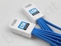 gadżet reklamowy kabel ładujący do telefonu z logo LSI Software