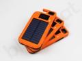 Power bank solarny z lampą LED i wyświetlaczem logo KWS