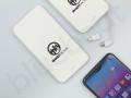 reklamowy power bank 4000mAh z adapterem do iPhone\'a