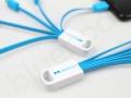 multi kabel ładujący z nadrukiem logo typc-microusb-lightning