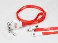 smycz reklamowa z kablem usb 3w1 (micro USB+lightning+Typ-C)