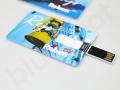 reklamowa pamięć USB karta z logo fullcolor