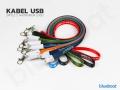 Kable USB reklamowe z logo