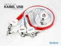 kable reklamowe USB 3w1 z logo