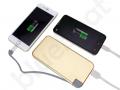 power bank z wbudowanym kablem i adapterem do iPhone