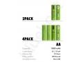 baterie AA micro usb