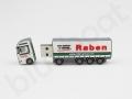 indywidualna pamięć usb w kształcie ciężarówki Raben