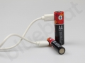 bateria AA i AAA z kablem USB do ładowania