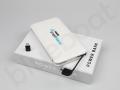 power bank 10000mAh z wbudowanym kablem i logo FAKRO