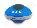 wodoodporny głośnik z przyssawką i logo EATON